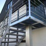Konstrukcja schodów Mazury