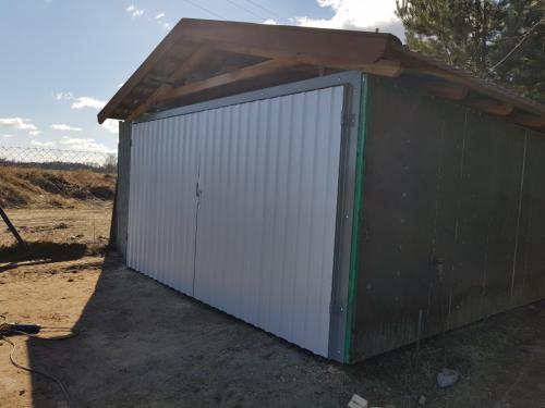 Brama garażowa Mazury