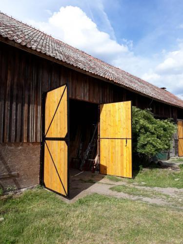 Drzwi do stodoły Mazury